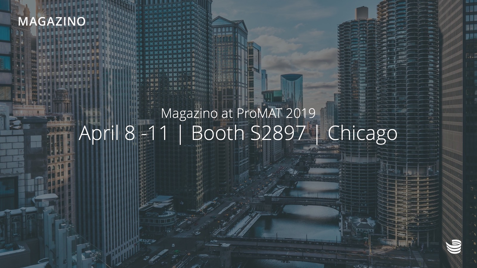 Magazino at ProMAT show 2019 in Chicago
